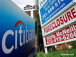 Citi, citibank, citimortgage, mortgage, foreclosure, short sale, FHA,